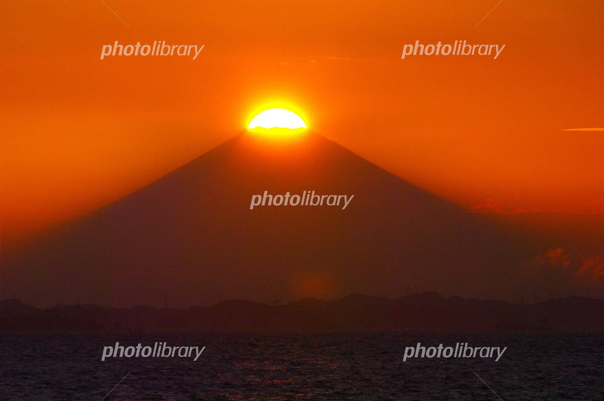 Diamond Fuji Photo