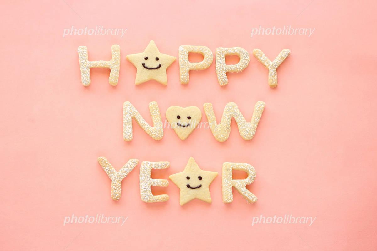 Happy New Year cookies Photo