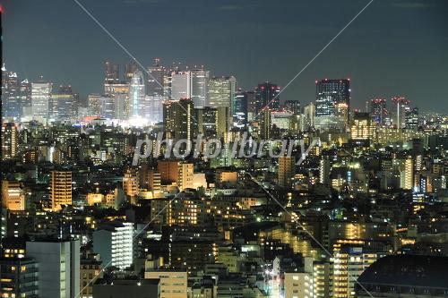 Shinjuku night view Photo