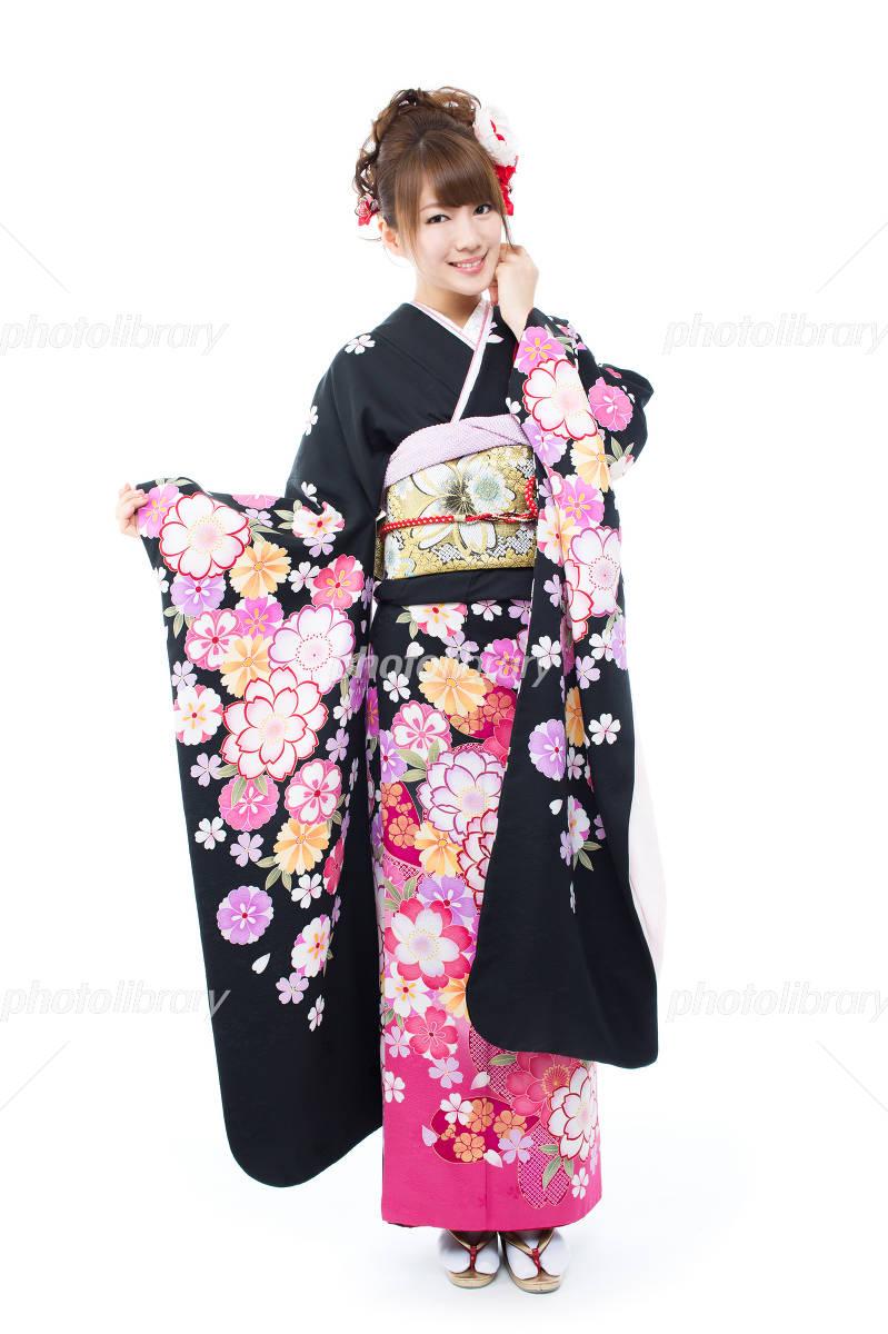 Long-sleeved kimono Photo