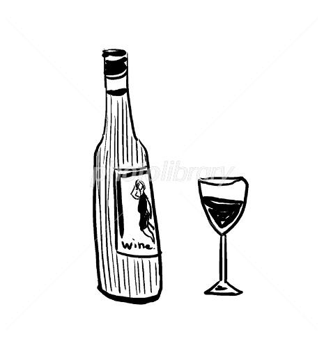 ワインイラスト イラスト素材 2230456 フォトライブラリー