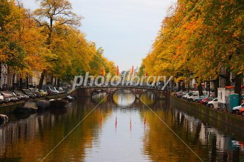 アムステルダムの運河の画像 p1_12