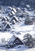 Winter of Shirakawa-go Stock photo [2215908] Shirakawa-go