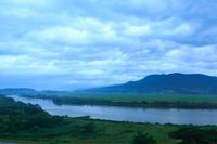 Before dawn Kitakami and Tabashineyama Stock photo [2220219] Landscape