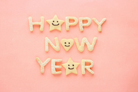 Happy New Year cookies Stock photo [2223046] New