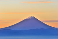 Morning of colors and Mt Fuji Stock photo [2226277] Dawn