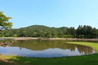 Hiraizumi Mōtsū-ji Pure Land garden Stock photo [2226684] World