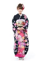 Long-sleeved kimono Stock photo [2228467] Person