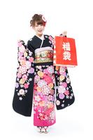 Long-sleeved kimono Stock photo [2231226] Person