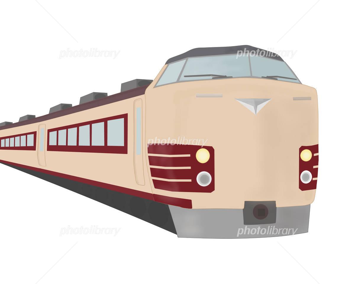 特急列車 イラスト素材 [ 2355848 ] - フォトライブラリー photolibrary