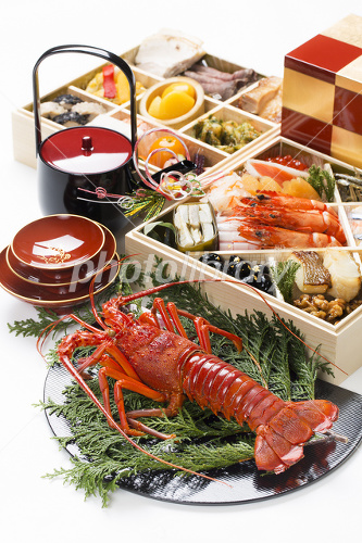 New Year cuisine Photo