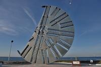 海ほたる 建設記念碑