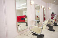 Introspection of hair salon Stock photo [2350153] Interior