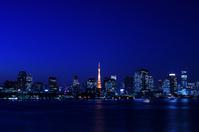 I hope than Odaiba Tokyo Tower and Tokyo Bay of night view Stock photo [2351052] Tokyo