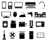 Consumer electronics icon [2355936] Consumer