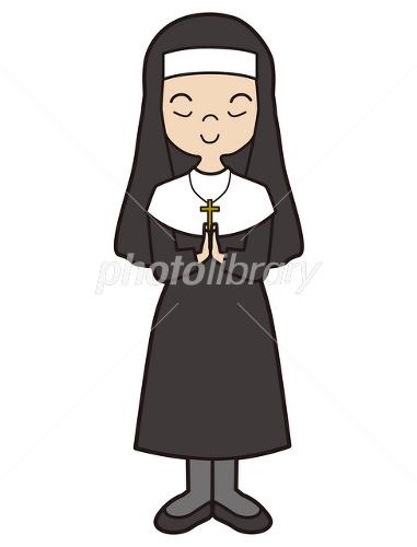 修道女 祈り キリスト教 イラスト素材 2477421 フォトライブラリー