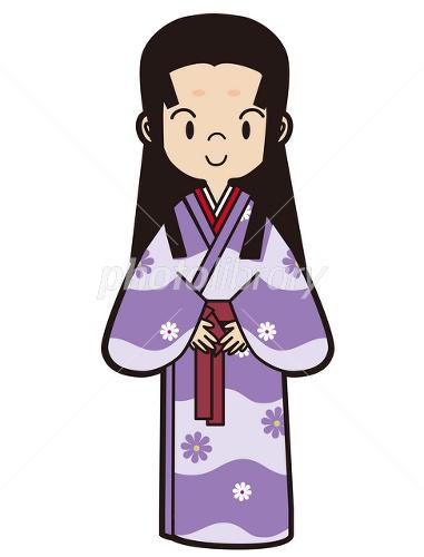 娘 姫 小袖 戦国時代 安土桃山時代 女性 武家 イラスト素材 2479119