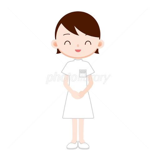 病院 受付の女性 お大事に イラスト素材 2480099 フォトライブ