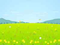 Spring landscape views [2470358] Dandelion