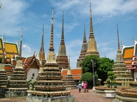 Bangkok Wat Pho pagoda Stock photo [2470700] Thailand