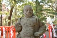 法明寺金剛力士像