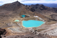 New Zealand Tongariro National Park Emerald Lake Stock photo [2473850] Tongariro
