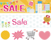 Cute sale of banner [2477487] Sale
