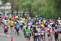 Soseikawa communication of Hokkaido Marathon Stock photo [2478426] Hokkaido
