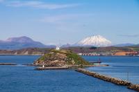 Daikokujima and Mt.Yotei and Usu Stock photo [2596838] Daikokujima
