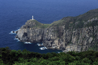 Goto Fukue Island of Great Sezaki Lighthouse Stock photo [2596885] Nagasaki
