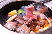 Roast roaster and fire and smoke rising Stock photo [2598480] Roast