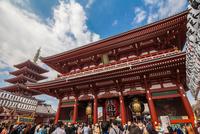 Sensoji Temple Hōzōmon stock photo
