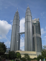 Malaysia's Petronas Twin Towers Stock photo [2606846] Twin