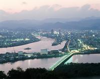 Kochi city sunset Stock photo [2609562] Japan