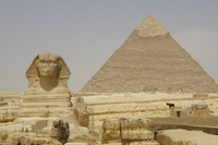Egypt World Heritage Pyramids and Sphinx Stock photo [2610862] Pyramid