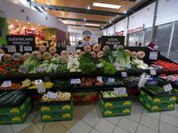 オーストラリアの野菜売り場