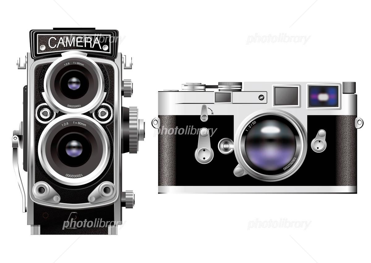 クラシックカメラ イラスト素材 フォトライブラリー Photolibrary