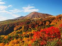 Autumn leaves landscape from Bandai Azuma Skyline Stock photo [2690229] Bandai