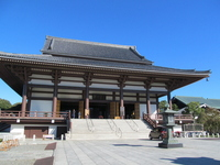 Nishiarai Daishi main shrine stock photo