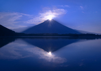 Double Diamond Fuji Stock photo [2696465] Mt.