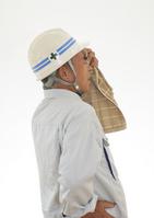 Male workers wipe the sweat Stock photo [2697054] Sweat