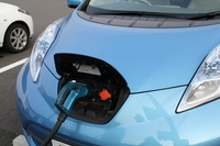 Electric car in charge (up) Stock photo [2697899] Electric
