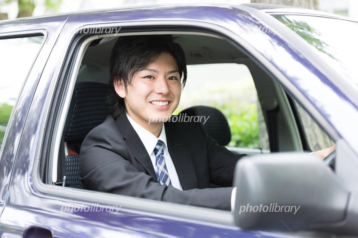 Businessman car Photo