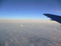Hawaiian sky from the airplane Stock photo [2773481] Cloud