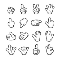Hand signs [2781213] Hand