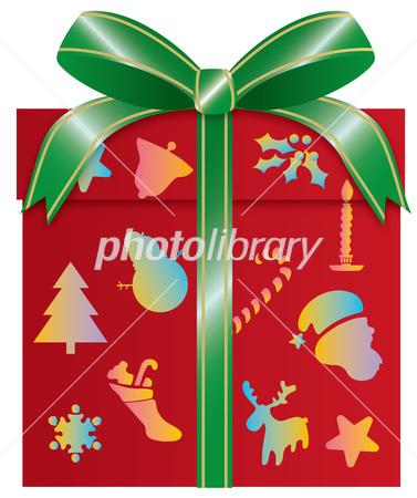 クリスマスのプレゼントボックス イラスト素材 [ 2861967