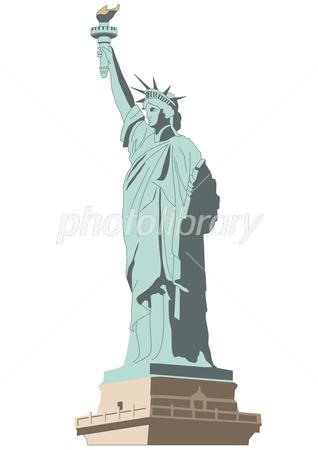 自由の女神 イラスト素材 2871727 フォトライブラリー Photolibrary