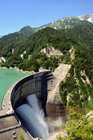 Kurobe dam Stock photo [2862450] Kurobe