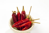 Dry red pepper Stock photo [2864156] Red