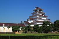Tsuruga Castle Stock photo [2865464] Aizu-Wakamatsu